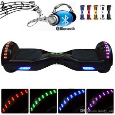 Discount Bluetooth Speaker Hoverboard Electric Scooter With Led Light 6.5 Inch Tyre Two Wheels Smart Balance Drifting Board Self Balancing Skateboard From China | Dhgate.Com