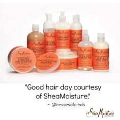 We love hearing great #SheaMoistureHair reviews!