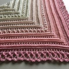 Secret Paths Sjal / Shawl – Mijo Crochet