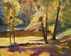 Golden Pond by Dot Courson Oil ~ 24 x 36