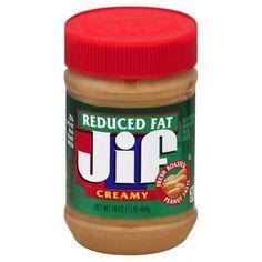 Jif Reduced Fat Creamy Peanut Butter Spread