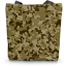 Muddy Digital Brown CAMO Tote Bag