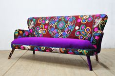 Suzani 3-seater sofa  winter sun by namedesignstudio on Etsy