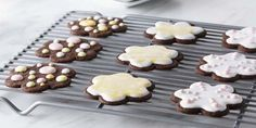 Look at this recipe - Decorated Shortbread Cut-Out Cookies - from Anna Olson and other tasty dishes on Food Network. Shortbread Cut Out Cookie Recipe, Best Sugar Cookie Icing, Chocolate Shortbread Cookies, Shortbread Recipes, Cut Out Cookies, Popular Cookie Recipe, Best Cookie Recipes, Baking Recipes, Sweets Recipes