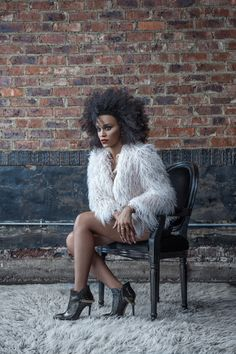 Europa Art Shoes Winter Cmapaign with Pearl Thusi