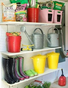37 Ideas For An Organized Garage  Lots of good pics