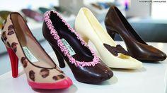 Chocolate stilettos! Gotta make this for my girl Stephanie the shoe <3r