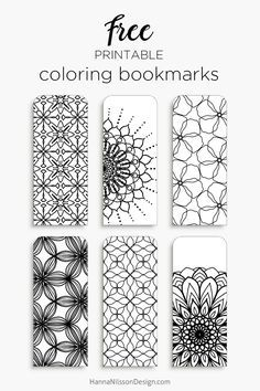 Coloring Bookmarks Free Printable - Coloring Bookmarks Free Printable , Zendoodle Coloring Bookmarks Printable Bookmarks to Color Free Printable Bookmarks, Diy Bookmarks, Free Printables, Crochet Bookmarks, Printable Book Marks, Bookmarks To Color, Bookmark Ideas, Bookmark Template, Marque Page
