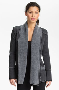 Hard Tail Slouchy Knit Cardigan in Gray (end of color list black ...