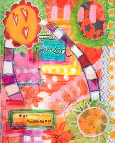 """Amusements"" a page by Dori Patrick"