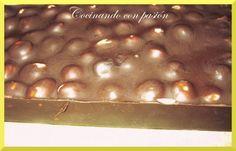 Cocinando con pasión: Turrón de chocolate con avellanas