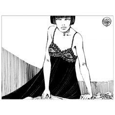 CREPAX - Valentina: tenera è la notte (120x90 cm / 80x60 cm) #artprints #interior #design #art #prints #fumetti #Valentina  Scopri Descrizione e Prezzo http://www.artopweb.com/EC21521