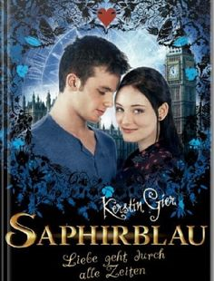 Saphirblau's Book Cover for Germany (movie edition)