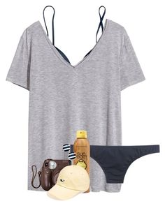 """""""Contest//Day 4"""" by daydreammmm ❤ liked on Polyvore featuring J.Crew, H&M, Sun Bum, Vineyard Vines, Kate Spade and lydhcontestsummer"""