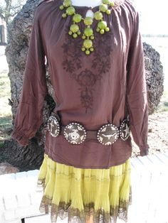 Love this skirt and concho belt  http://www.punchycowgirlmootique.com/catalog.php?item=1863