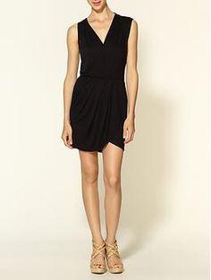 Loveappella Asymmetrical Drape Dress   Piperlime - 49.50