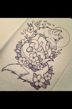 Oh how I neeeeed a fox tattoo!