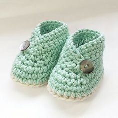 Häkeln Muster Baby Booties Schuhe Unisex: jungen oder von ketzl