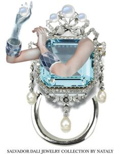 Beautiful ring by SALVADOR DALI JEWELRY COLLECTION
