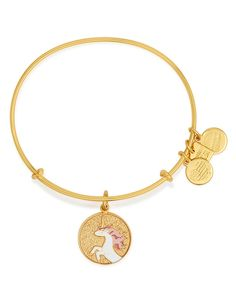 Alex and Ani Unicorn Expandable Wire Bangle, Charity by Design Collection   Bloomingdale's