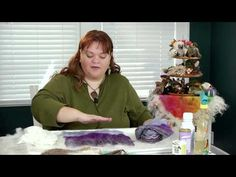 ▶ How to Get Started Wet Felting - YouTube Yep she is a genius