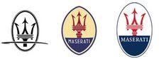 Maserati Logo Evolution