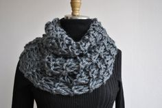 Outlander Claire'sCowl Holiday gifts-Hand Knit Chunky by KYSAA