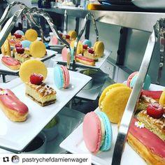 #Repost @pastrychefdamienwager (@get_repost) @bakelikeapro   - - - - - - - - - - #simplybeautiful #photography #extraordinarydesserts #pastrydelights #dessertmasters #pastrylife #pastrychef #chocolate #plateddesserts #chefsofinstagram #chefstalk #cheflife #chefsroll #pastryelite #staffcanteen #michelinguide #artofplating #pastry #chef #rollwithus #chefsplateform #instagram #art #foodporn #eclair #macaron #afternoontea #hightea #scones