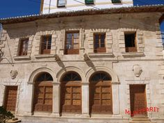 Casa de Oficios de Montefrío falcada de estilo Manierista