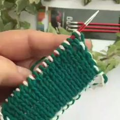 how to make decreases when double-sided jacquard – Knitting patterns, knitting designs, knitting for beginners. Knitting Stiches, Knitting Videos, Knitting For Beginners, Crochet Stitches, Knit Crochet, Beginner Crochet, Knitting Wool, Easy Crochet, Knitting Designs
