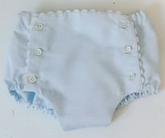 Cubre pañal celeste bebé Heirloom Sewing, Boho Shorts, White Shorts, Infant, Embroidery, Patterns, Kids, Women, Fashion