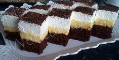 Kakaós-kókuszos bögrés kevert vaníliás krémmel (csökkentett szénhidráttal ) Hungarian Desserts, Tiramisu, Cake Recipes, Cheesecake, Deserts, Food And Drink, Bread, Snacks, Chocolate