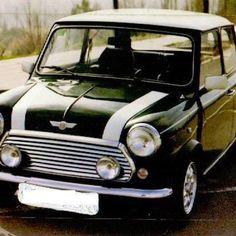 Mini with decals lines