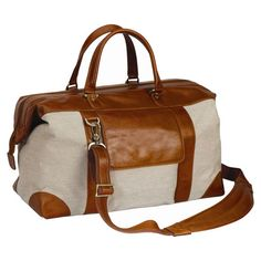 Tuscany Leather Duffel Bag... Love this site not too expensive but not ur run of the mill items