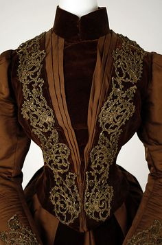 Dress ca. 1880 | JV
