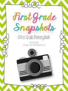 1st Grade Snapshots: An EOY 1st Grade Memory Book