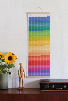 2017 Calendar Wall Planner 2017 for children rainbow colours Wall decoration Poster Color Print 2017 by WiLaNo on Etsy https://www.etsy.com/listing/461269920/2017-calendar-wall-planner-2017-for