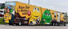M&M's, Joe Gibbs Racing, NASCAR