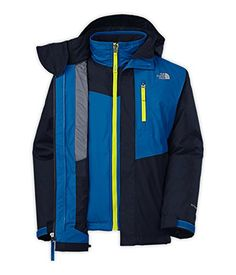 aa1777f6981a The North Face Boys  2014 Reversible Sparker Triclimate Jacket