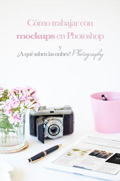 Aprende a trabajar con preciosos mockups en Photoshop y ¿A qué saben las nubes? Photography