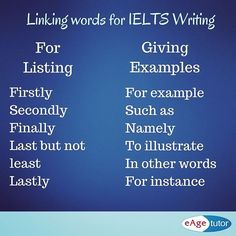 Linking words for IELTS writing #ieltswriting #ielts #eagespokenenglish