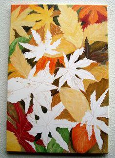 Atelier de Arte Julainne: Folhas de outono - Momiji - (3)