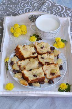 Budinca de paine cu ananas si merisoare - CAIETUL CU RETETE