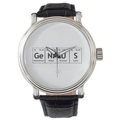 GeNiUS Chemistry Periodic Table Words Elements Watch