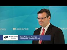Interview with Harry Anthony Patrinos, Practice manager, Education, Worl. Interview, Management, Education, World, The World, Onderwijs, Learning