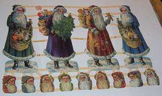 Newer Victorian German Christmas Santa Claus by TheWisdomTree