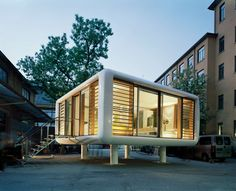 Take to the Roof in This Dapper, Futuristic Prefab - Globe Trotting - Curbed National