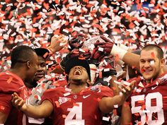 Alabama's win in BCS title game