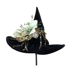 Witch Witches hat, Halloween Witch, womens costume hat, adult Witch... ❤ liked…