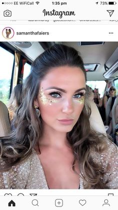Carnaval The post Carnaval appeared first on makeup. - - Carnaval The post Carnaval appeared first on makeup. Glitter Carnaval, Make Carnaval, Costume Carnaval, Rave Makeup, Party Makeup, Glitter No Rosto, Coachella Make-up, Belly Dance Makeup, Festival Makeup Glitter